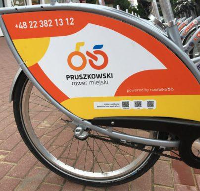 Pruszkowski Rower Miejski pojeździ do niedzieli