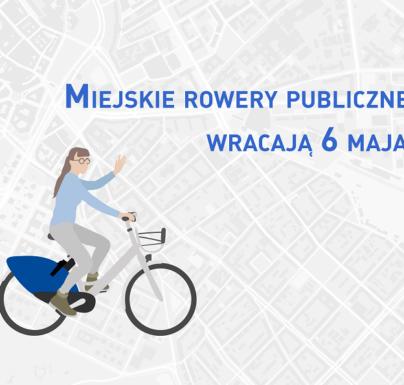(Polski) 6 maja wraca rower miejski w Pruszkowie